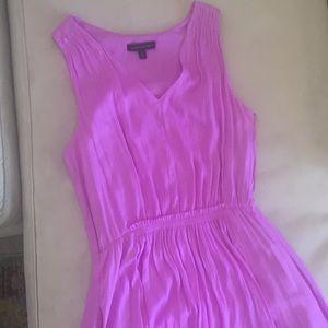 Lilac silk goddess dress